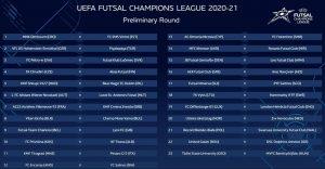 Akaa Futsalilla huono arpaonni Mestareiden liigassa - Jani Korpelan Rekord isännöi Walesin mestaria