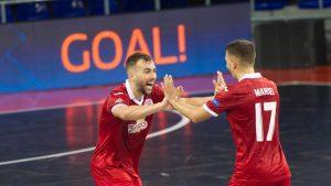 ElPozo Murcia ja Barça finaaliin - KPRF Moskova taipui vasta rankkareilla