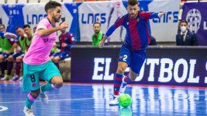 Sunnuntai-iltana huippupeli ElPozo Murcia vs Barca - Myös muita hyviä TV-pelejä tarjolla
