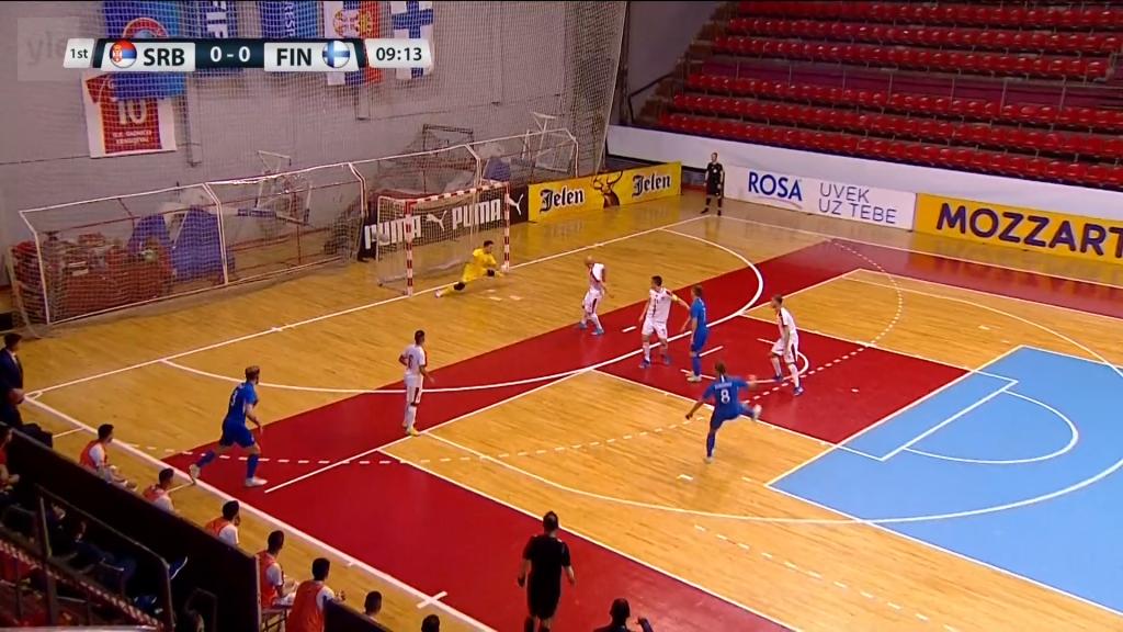 Ensimmäinen ottelu Serbialle 1-0 - Ratkaisu tiistaina Vantaalla
