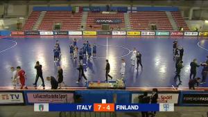 Suomelle tappio Italiaa vastaan - Tiukka ottelu kääntyi toisella puoliajalla