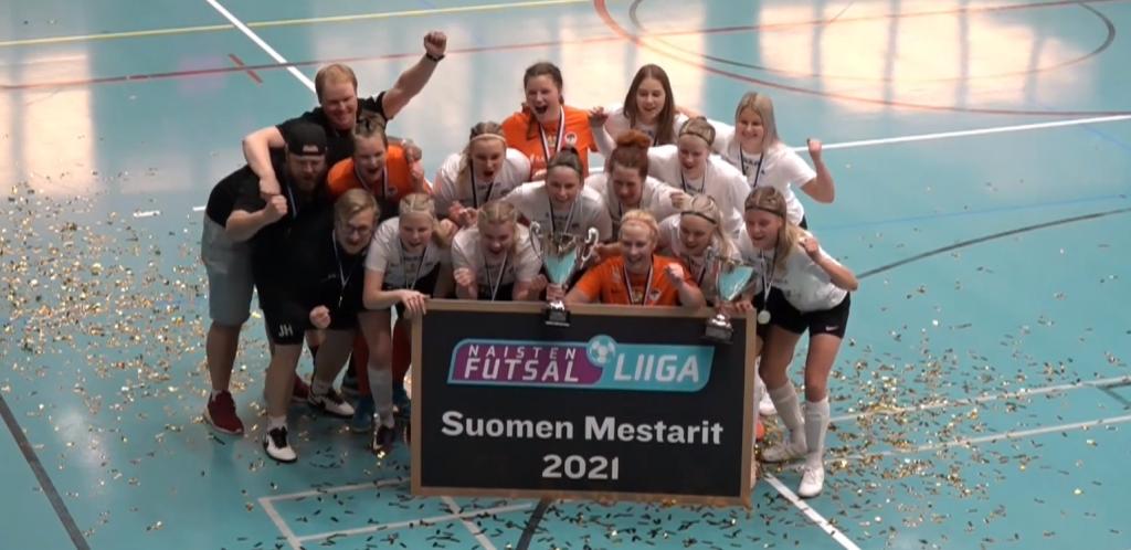 MuSa Futsal naisten Suomen mestari