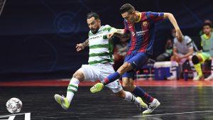 Sporting CP voitti Mestareiden liiga finaalissa Barçan